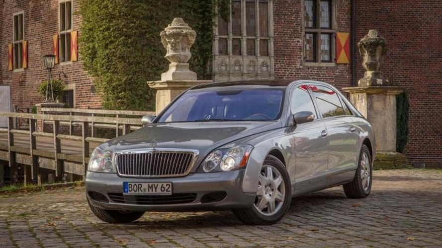 2004 Maybach 62 clocks more than one million km