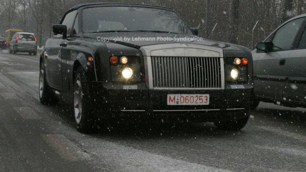 New Rolls Royce Convertible Spy Photos