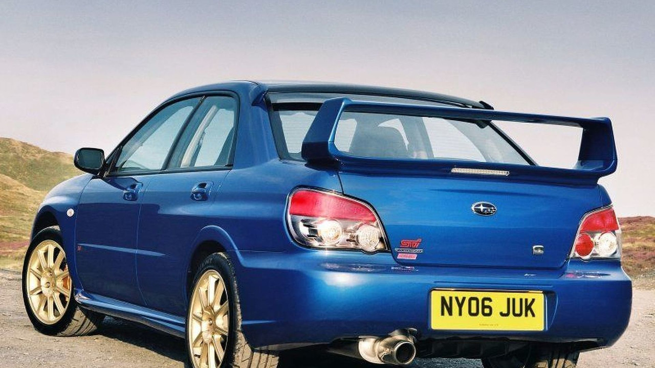 Subaru Impreza WRX STi with Prodrive Performance Pack