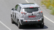 2017 Citroen C3 Picasso spy photo