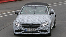 Mercedes-AMG C63 Convertible spy photo