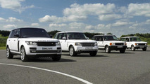 Land Rover celebrates Range Rover's 45th anniversary