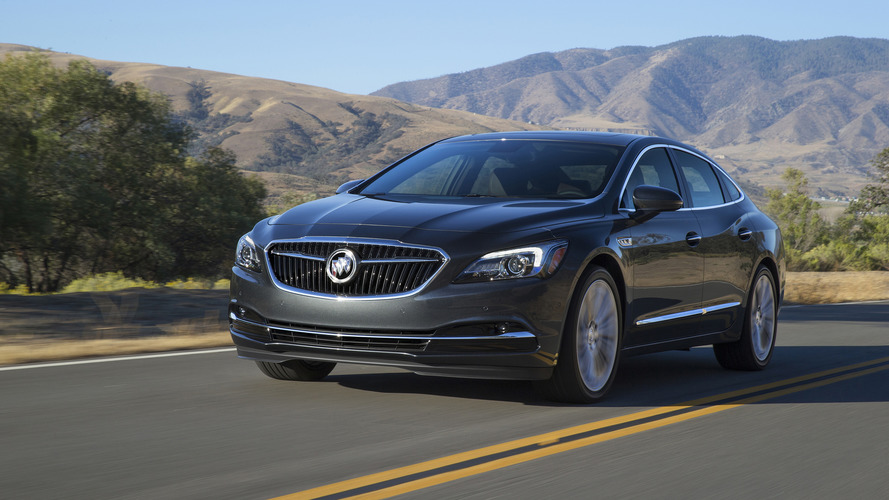 Allnew Buick LaCrosse Returns In A New Teaser Image Showing Sleek - Buick encore wiki