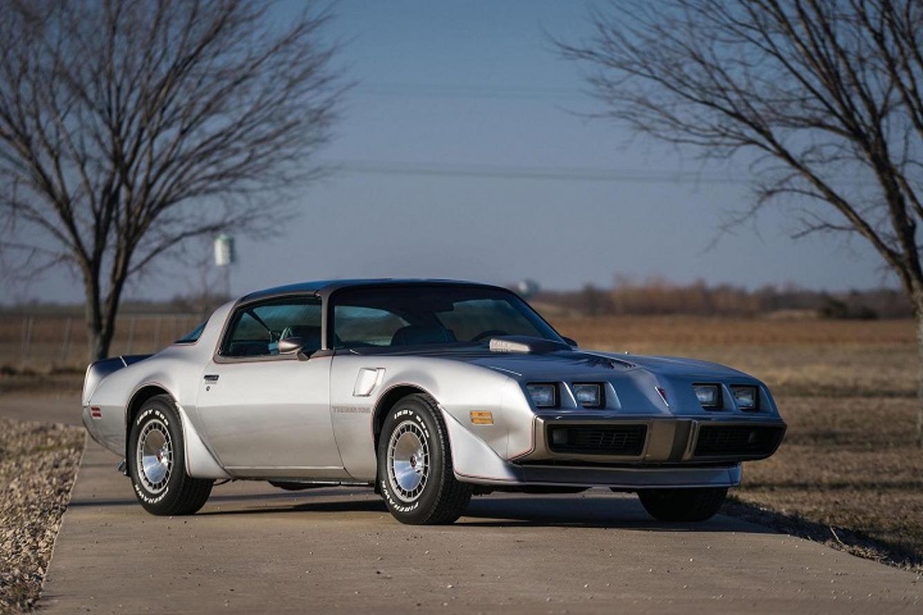 Rare 10th Anniversary 1979 Pontiac Firebird Trans Am Going to Auction