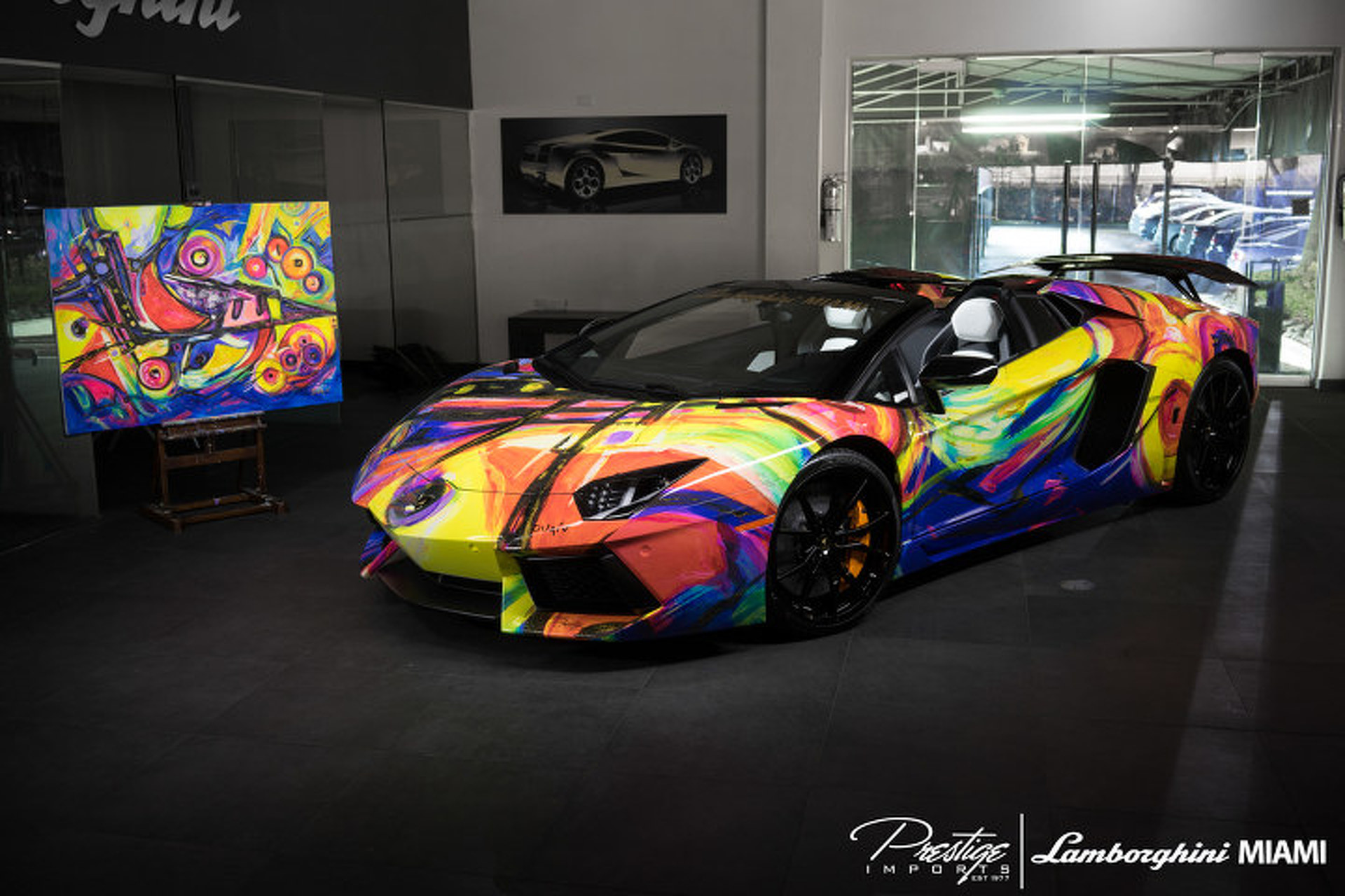 This Lamborghini Aventador is Art You Can Drive