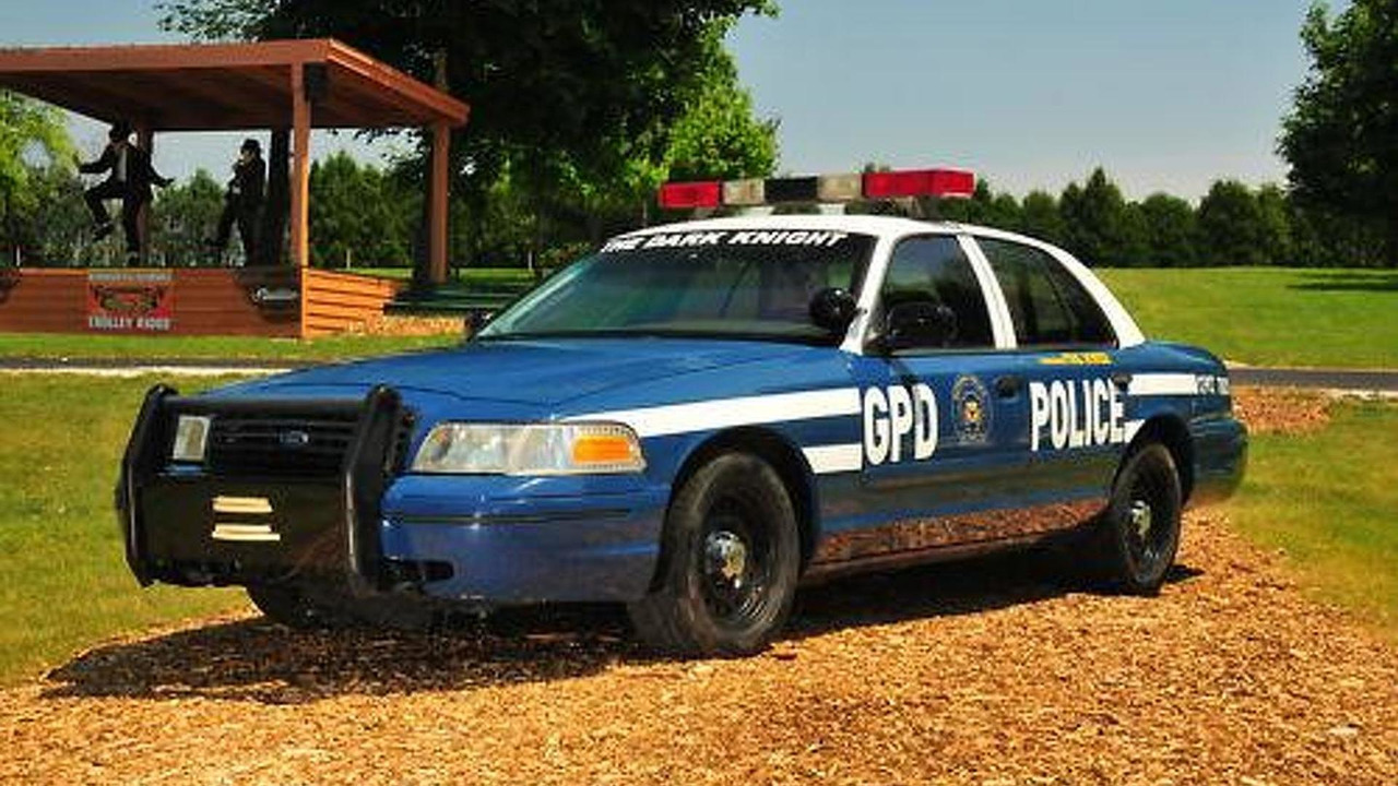 Gotham City PD's Ford Crown Vic, fully stunt modified, from The Dark Knight