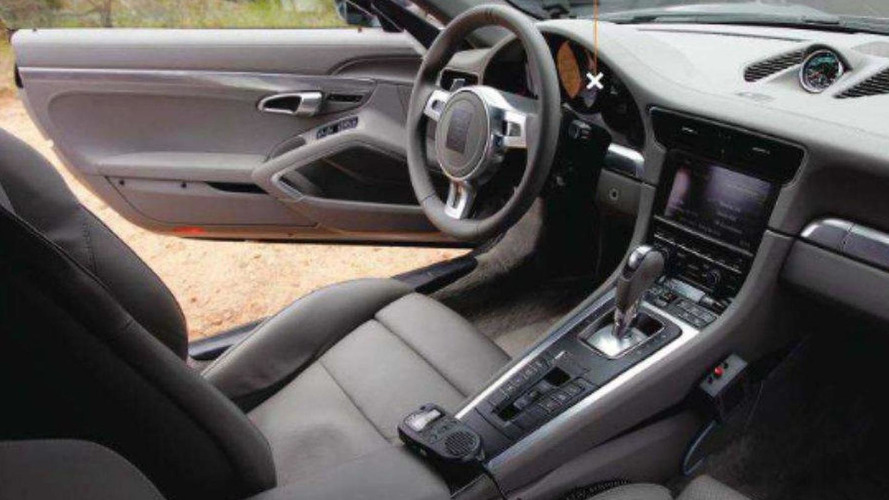 2012 Porsche 911 specs come forth - interior photo