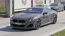 2018 BMW 8 Series Coupe new spy photos