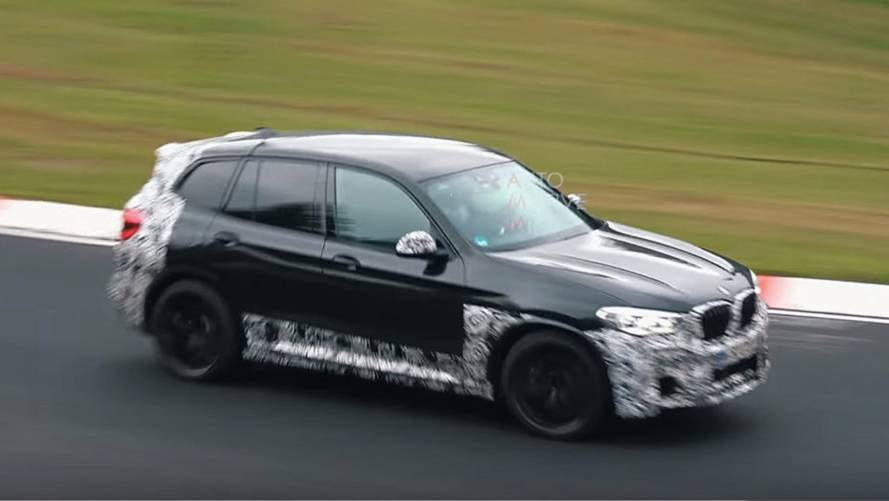 2019 BMW X3 M Looks Right At Home At The 'Ring In New Spy Video