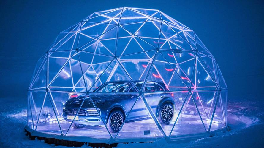 Porsche Opens World's Highest Pop-Up Store In The French Alps