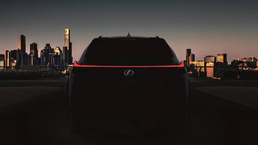Lexus UX Teased In Production Guise Prior To March 6 Reveal
