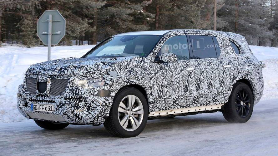 2019 Mercedes-Benz GLS-Class Spied In Snow Looking Rather Chunky