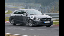 Mercedes CLA Shooting Brake, le foto spia