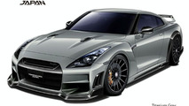 Nissan R35 GT-R by TommyKaira - titanium gray - 800