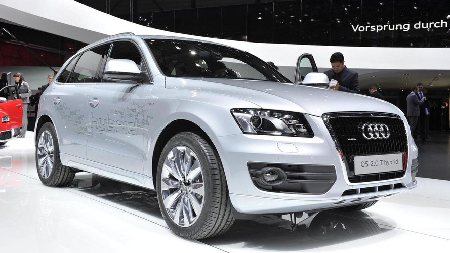 Audi Q5 Hybrid powers into Geneva [videos]