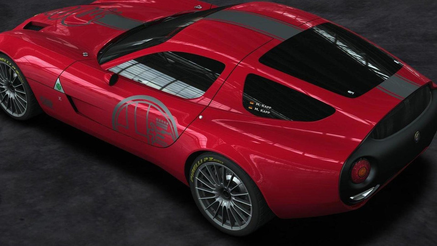 Zagato reveals Alfa Romeo TZ3 Corsa race car