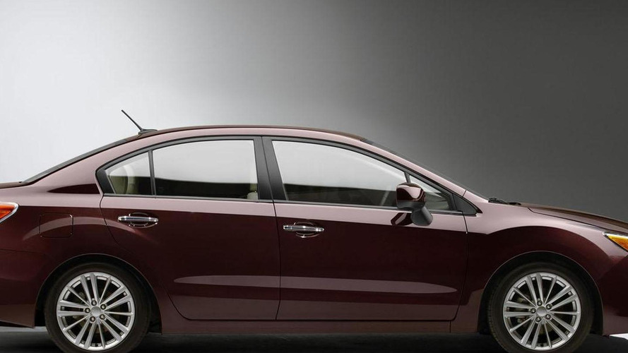 2012 Subaru Impreza teased for NY debut