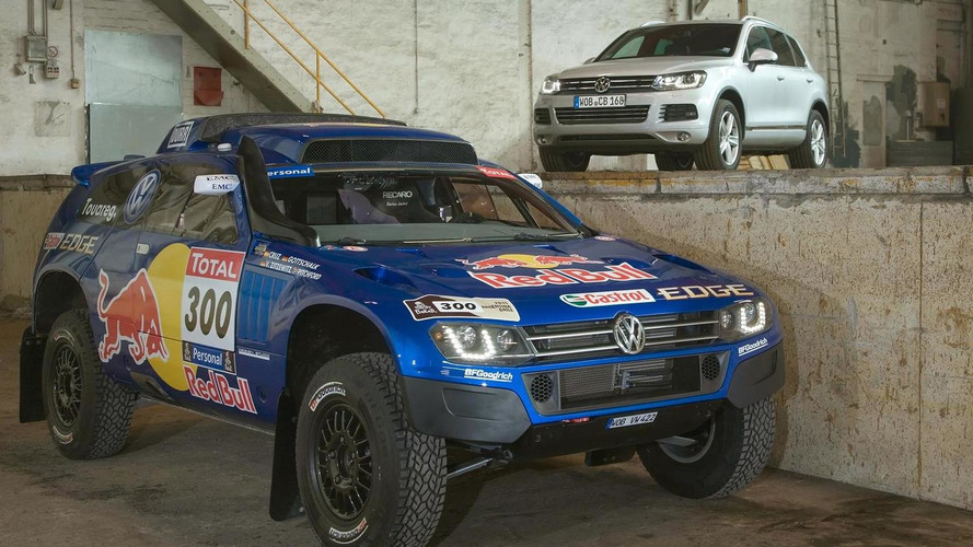 Volkswagen Race Touareg 3 breaks cover