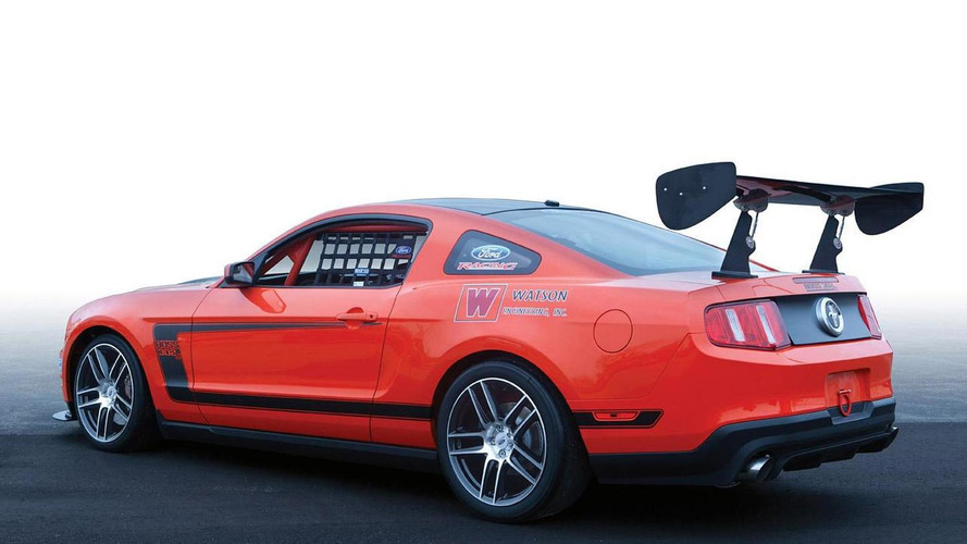 2012 Ford Mustang BOSS 302S turnkey racer announced
