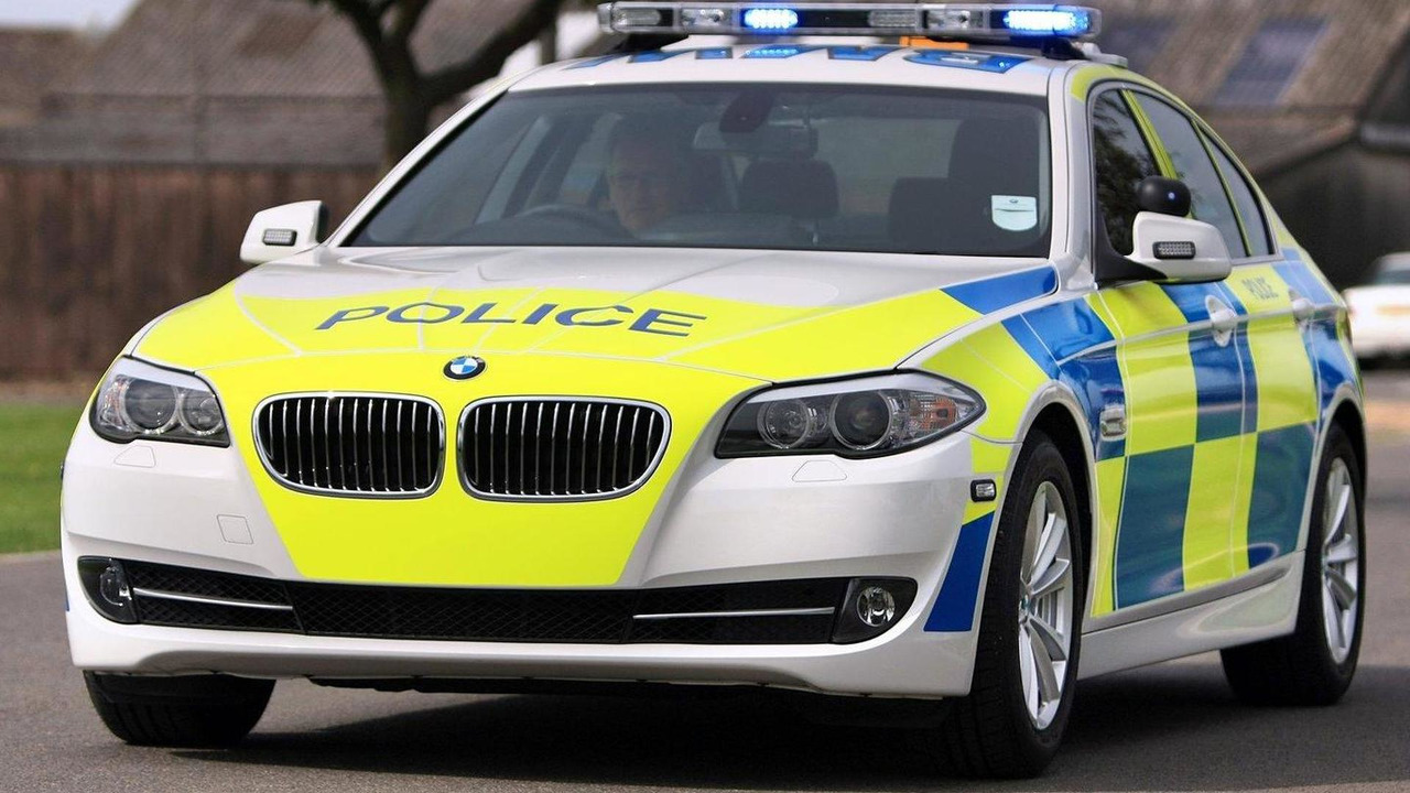 The Authorities Police BMW 530d Saloon 27.10.2010