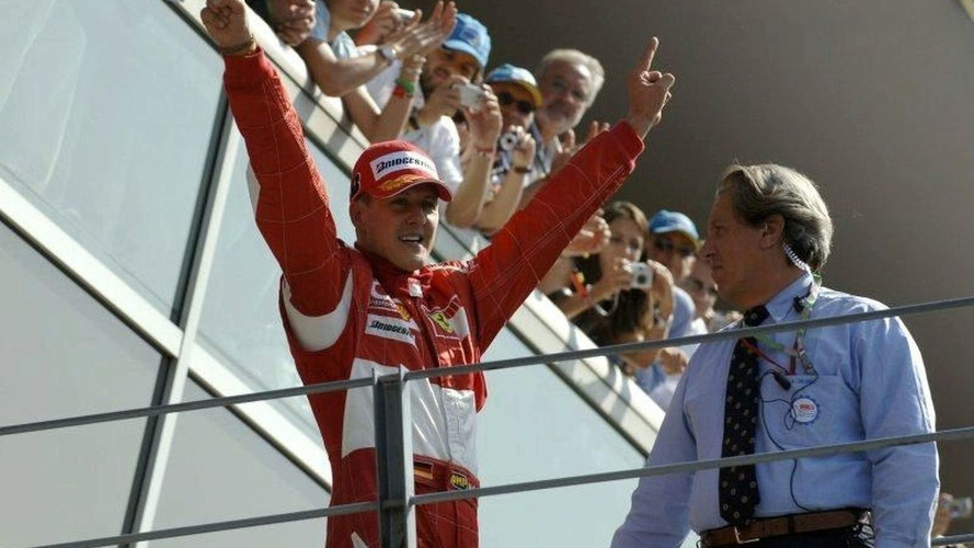 Schumacher finally returns home