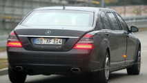 New Maybach test mule based on Mercedes S Class