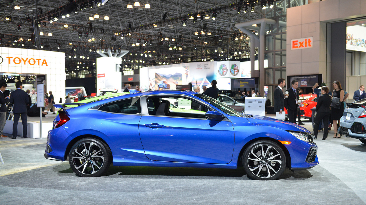 2017 honda civic si adds turbo still makes 205 hp. Black Bedroom Furniture Sets. Home Design Ideas