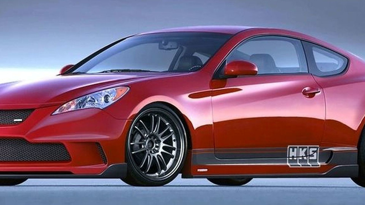 HKS Hyundai Genesis Coupe for SEMA