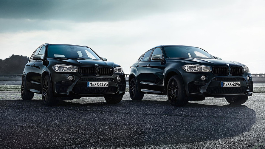 BMW X5 M And X6 M Black Fire Edition Look Downright Sinister