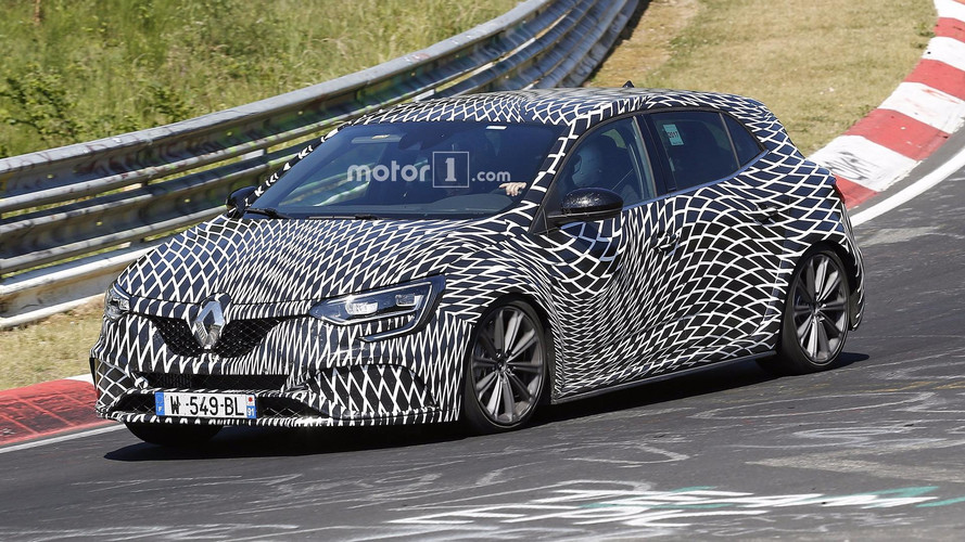 See The New Renault Megane RS From All Angles In 20 Spy Shots