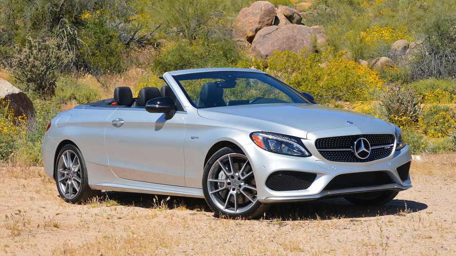 2017 Mercedes-AMG C43 Cabriolet Review: The Middle Way