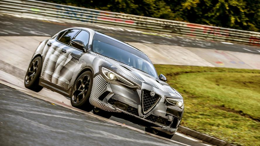 Alfa Romeo Stelvio QV sets Nurburgring record for fastest SUV