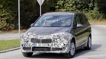 2018 BMW 2 Series Gran Tourer facelift spy photo