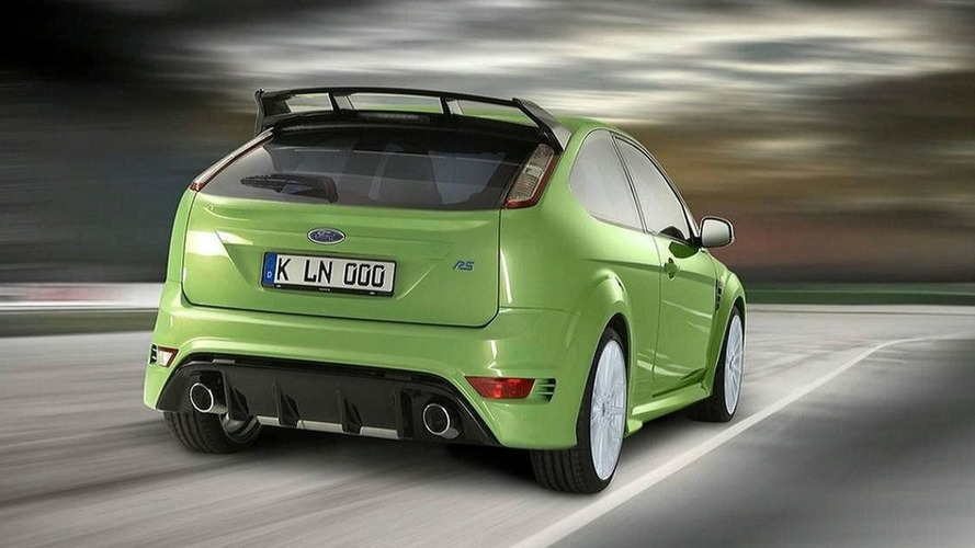 Convincing Ford Focus RS Renderings Surface