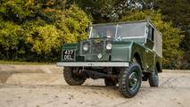 Land Rover Series I Jaguar Land Rover Classic Drive Eastnor Castle