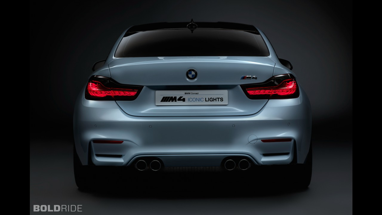 BMW M4 Concept Iconic Lights