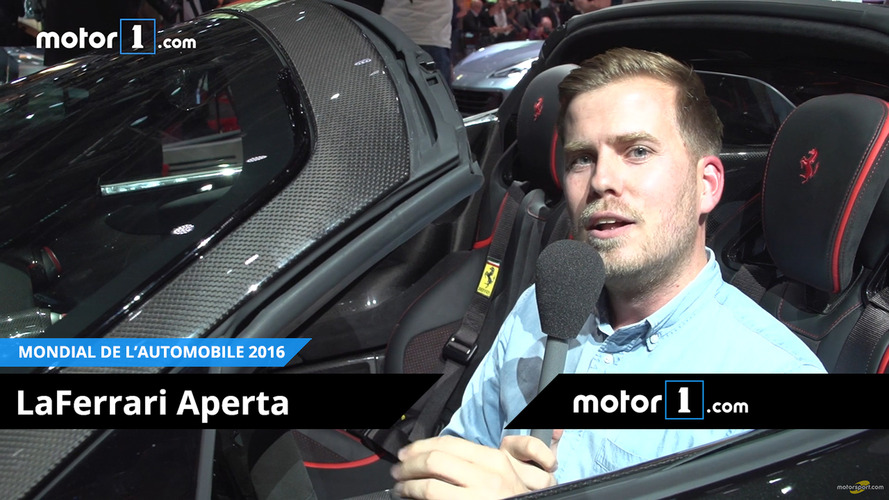 VIDEO - Bien assis dans la Ferrari LaFerrari Aperta !