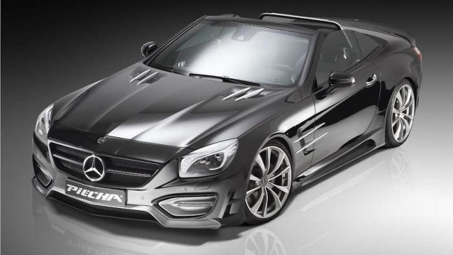 Piecha introduces the Mercedes SL Avalange GT-R