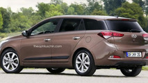 Hyundai i20 CW rendered, could actually happen
