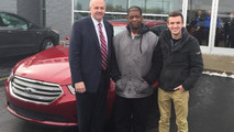 James Robertson and 2015 Ford Taurus
