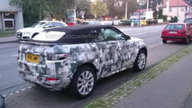 WCF reader captures Range Rover Evoque Cabrio on camera inside and out