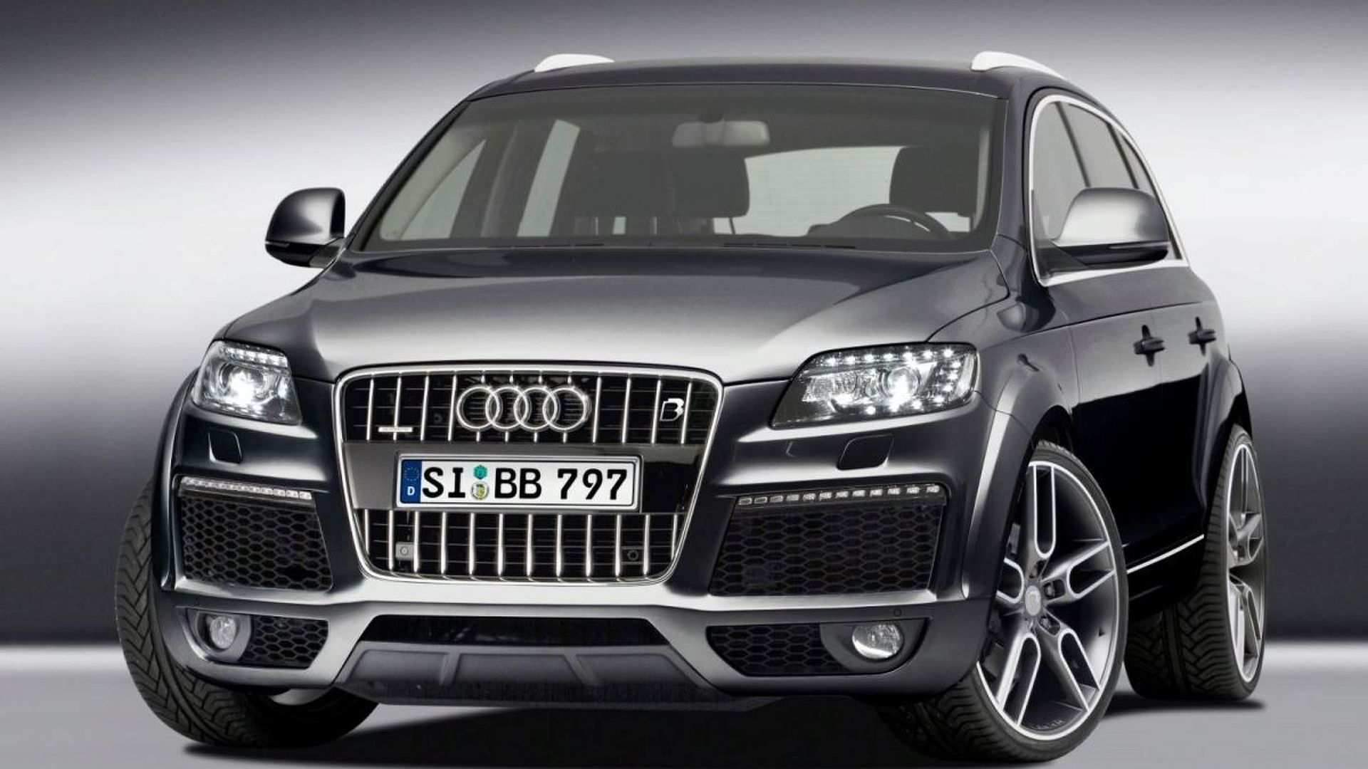 b b tunes audi q7 6 0 v12 tdi facelift to 595 hp and 1 270 nm. Black Bedroom Furniture Sets. Home Design Ideas