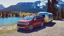 2018 Ford Expedition rear infotainment system
