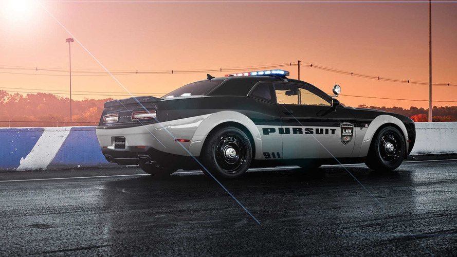 Dodge Demon Police Car Is Equal Parts Awesome And Terrifying