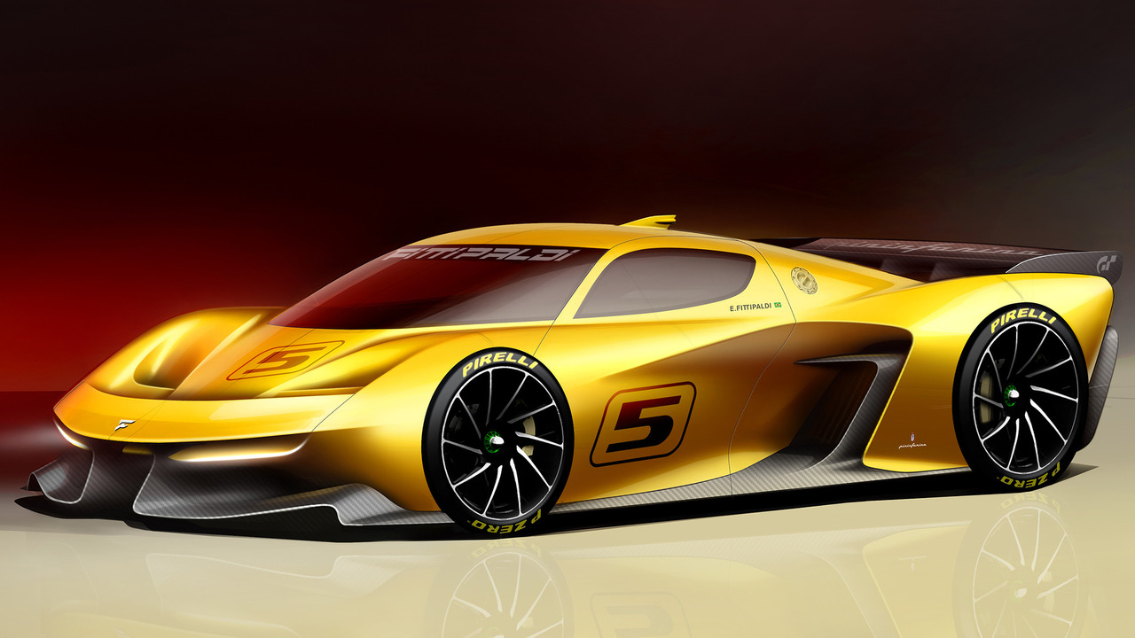 Fittipaldi EF7 Vision Gran Turismo is a 600-hp track toy