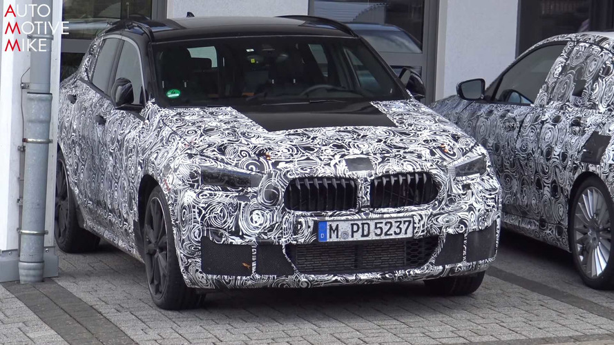 BMW X2 Spied Testing At The Nürburgring