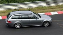 BMW M5 Touring Spy Photos