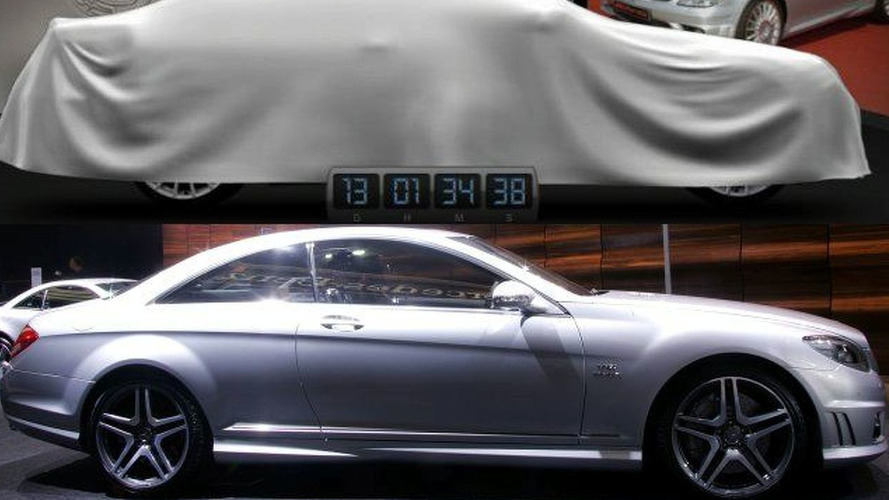 New York Mystery AMG car is a CL 65 - what a let down!