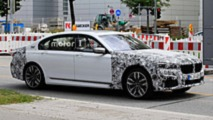 BMW 7 Series Refresh Spy Shots