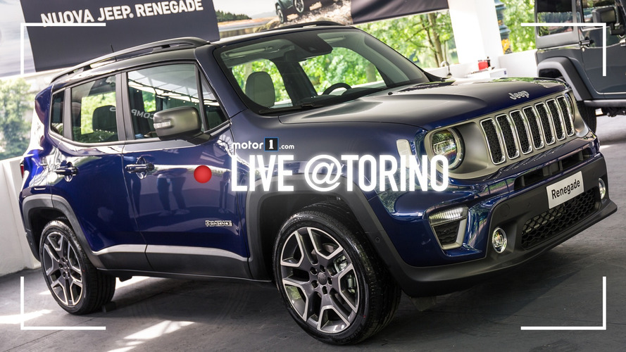 Jeep Renegade, il restyling a Parco Valentino 2018